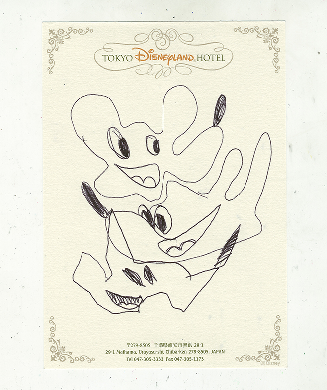 Jordan Devlin - Disney Drawings
