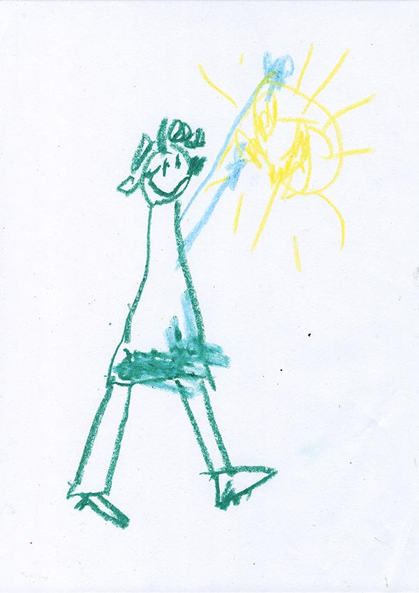 Jordan Devlin - Juvenile Drawing